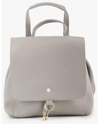 Azalea - Backpack With Gold Ring Detail - Lyst