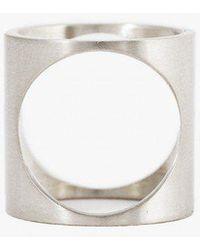 Marmol Radziner | Lightweight 2 Way Circle Ring | Lyst