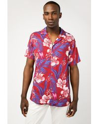 Insight - Island Floral Ss Shirt - Lyst