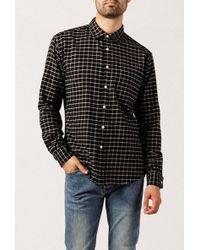 Corridor NYC - Black Check Shirt - Lyst