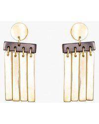 Soko - Cala Horn Fringe Earrings - Lyst