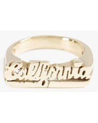 Snash Jewelry - California Ring - Lyst
