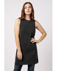 Azalea - Muscle Raw Edge Cut Dress - Lyst