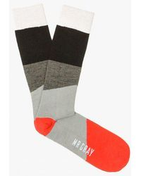 Mr Gray - Pop Black Sock - Lyst