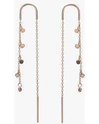 Scosha - Fairy Bead Thread Earrings P - Lyst