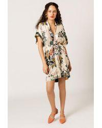 Azalea - Floral Kimono Dress - Lyst