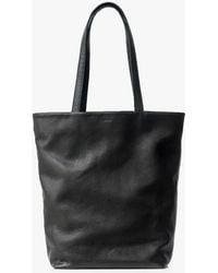 BAGGU - Basic Leather Tote - Lyst