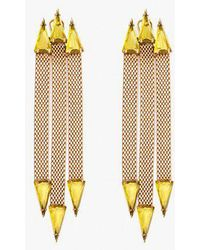 Nicole Romano - Trident Earrings - Lyst