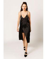 Azalea - Satin Overlay Cami Dress - Lyst