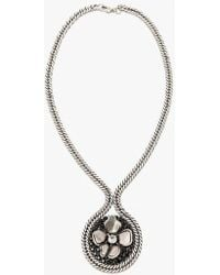 Nicole Romano - Flower Bomb Medallion Necklace - Lyst