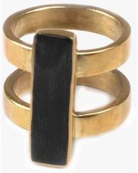 Soko - Horn Bar Ring - Lyst