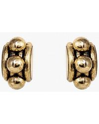 Nicole Romano - Arched Tube & Dome Earrings P - Lyst