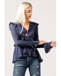 Stone Cold Fox - Connery Blouse - Lyst