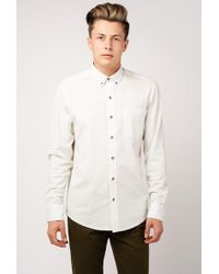 W.r.k. - Pindot Reworked Shirt - Lyst