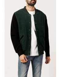 Stussy | Jackson Varsity Jacket | Lyst