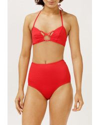 Lonely Hearts - Gia Bikini Top - Lyst