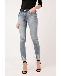 Hudson Jeans - Nico Midrise Crop Super Skinny - Lyst
