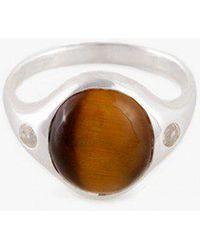 Pamela Love | Sterling Silver Essential Ring | Lyst