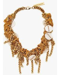 Nicole Romano   Hand Knot Wire Mixed Necklace   Lyst