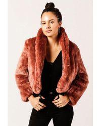 Obey - Lana Fur Coat - Lyst