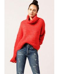 Azalea - Chunky Turtleneck Sweater - Lyst
