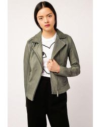 Doma Leather - Iconic Basic Biker Jacket - Lyst