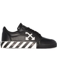 Off-White c/o Virgil Abloh - Black Arrow Vulcanized Low Top Sneakers - Lyst