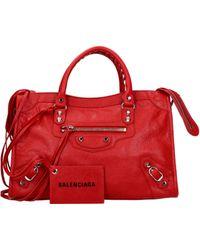 Balenciaga Handbags - Red