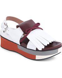 Marni Loafer-Hybrid Platform Wedges - For Women - Lyst
