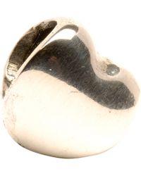 Trollbeads - Heart Silver Bead - Lyst