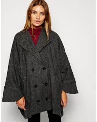 Cooper & Stollbrand | Cape With Sleeves | Lyst