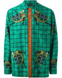 Jean Paul Gaultier 'Can Can' Print Shirt - Lyst