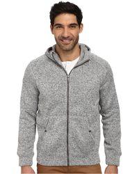 DKNY Ls Heavy Fleece Grindle Full Zip Hoodie - Lyst