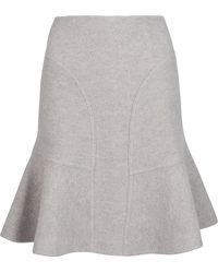 Issa Chelsea Felted Wool Skirt - Lyst