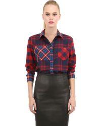 American Retro Kurt Plaid Cotton Shirt - Lyst