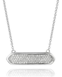 Monica Vinader Baja Mini Necklace - Lyst