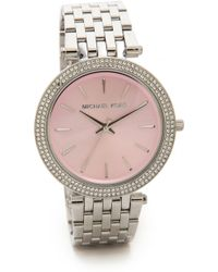 Michael Kors Darci Watch - Icy Pink - Lyst