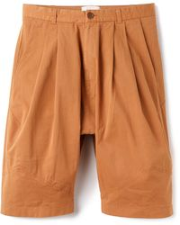 Henrik Vibskov Ants Shorts orange - Lyst