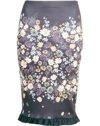 Clover Canyon   Winter Harvest Skirt Neoprene   Lyst