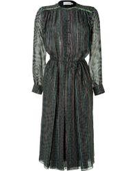 Preen Metallic Tatooine Dress - Lyst