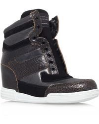 Marc By Marc Jacobs Wedge Leather Sneaker - Lyst