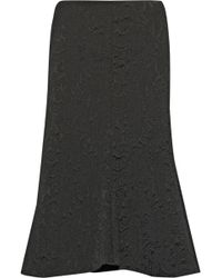 Tibi Lia Jacquard Midi Skirt - Lyst