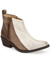 Free People 'Flying Ranch' Pointy Toe Bootie - Lyst