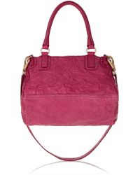 Givenchy Medium Pandora Bag in Plum Washed-leather - Lyst
