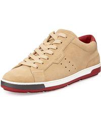 Bally Ainor Suede Sneaker - Lyst