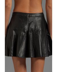 Townsen - Leather Skirt in Black - Lyst