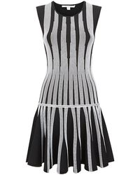 Diane Von Furstenberg Celine Striped Flare Dress - Lyst