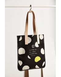 Fleabags - Dot Milk Tote Bag - Lyst