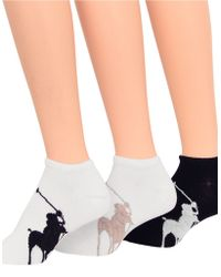 Ralph Lauren Big Pony Socks - Lyst