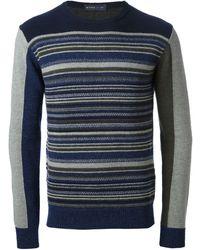 Etro Striped Sweater - Lyst